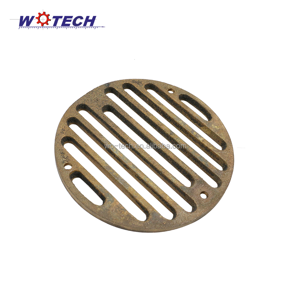 Customized high quality brass casting floor drain