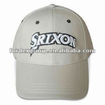 100% Cotton Twill Golf Cap with Ball Marker and Embroidery Design