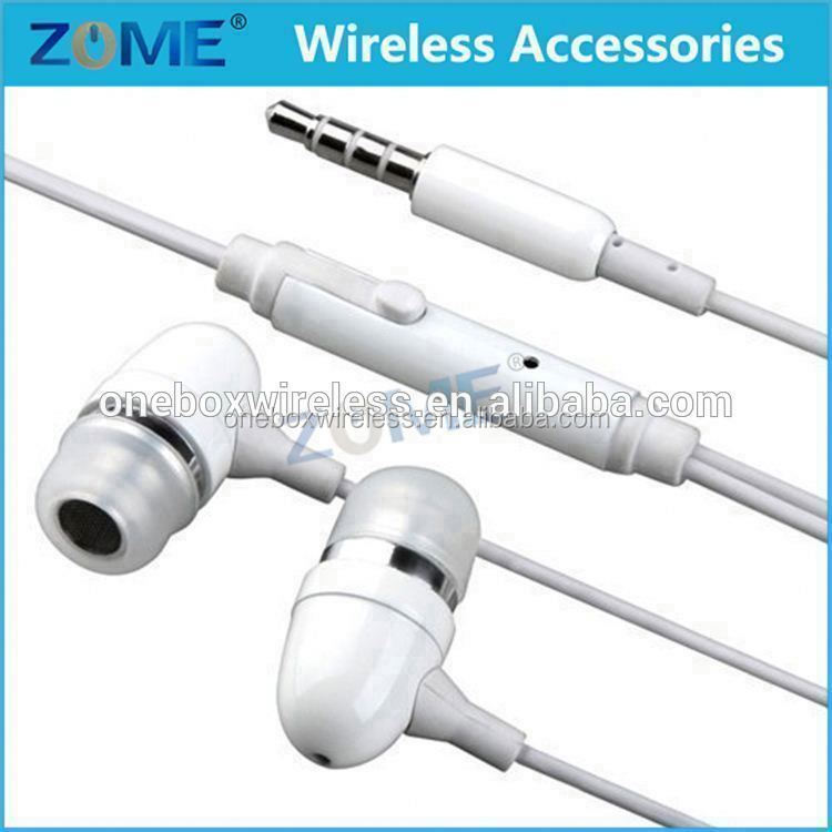 Promotion Gift Cheap Earbuds Mobile Phone Earphone With Microphone