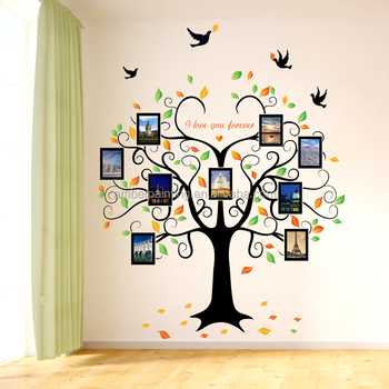 Picture Frame Collage Wall Decals Diy Home Bedroom - Buy Wall Decals ...