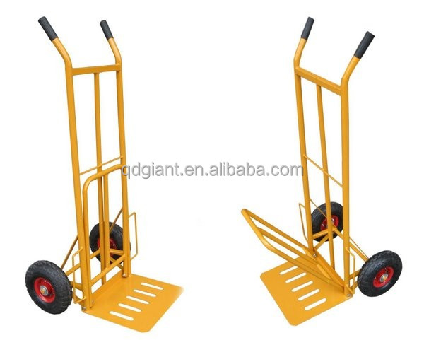 Folding Big Toe Plate Hand Trolley HT1827 for Material Handling Equipment