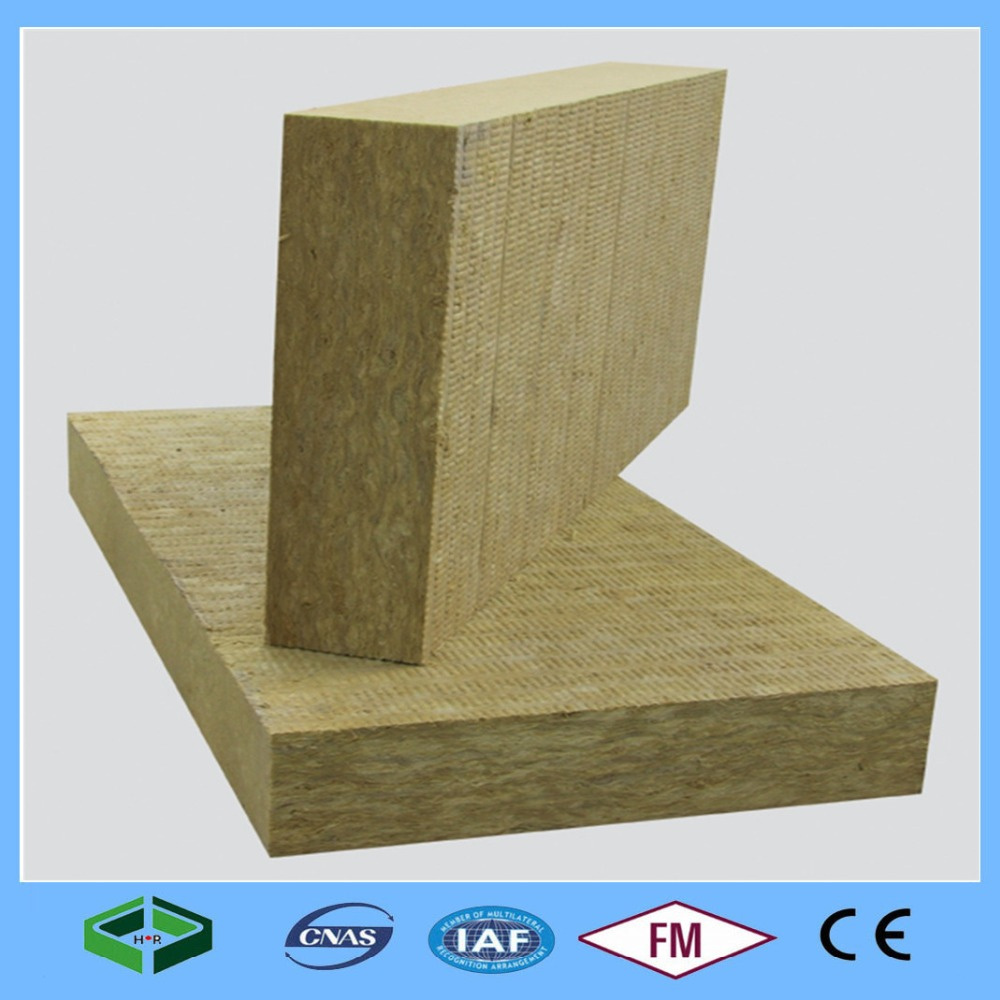 100kg/m3 Rock Wool Acoustic Panel Stone Wool Insulation Price