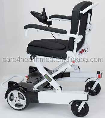 Ultra light foldable power wheelchair flexible and comfortable