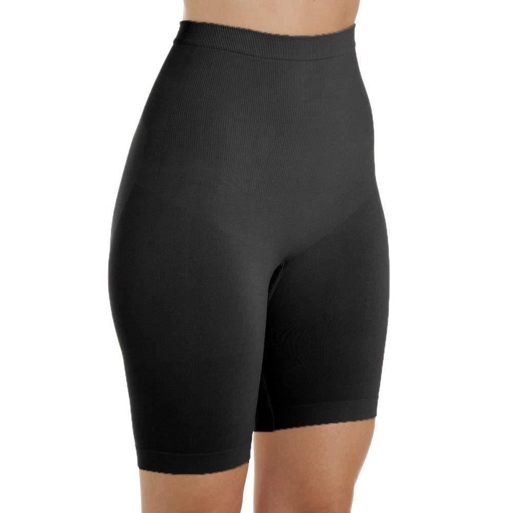 ed98259702800 Get Quotations · Camille Ladies Underwear Black Seamfree Shapewear Thigh  Slimmer Support Briefs