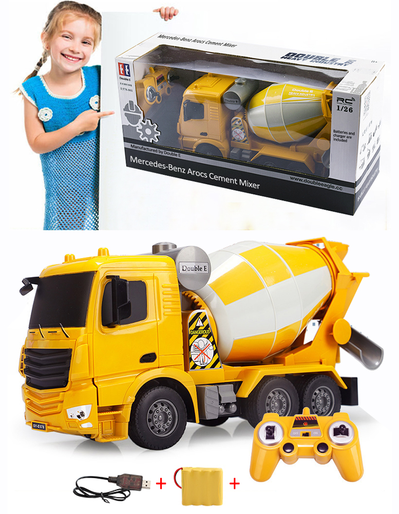 C 1:20 Elektrisches Spielzeug Double Eagle Betonmischer Mercedes Arocs Ferngesteuerter R