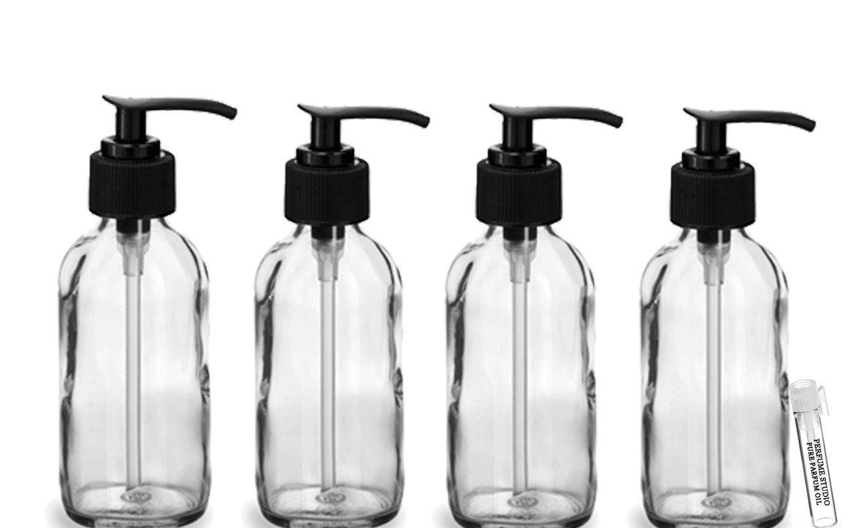 60d61d21e8da Buy 8 oz Glass Pump Bottle - Perfume Studio Cobalt Blue Glass Lotion ...