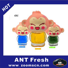 Hip-Hop Monkey Air Freshener 1 PCS Perfume Diffuser for Auto Car has four flavor