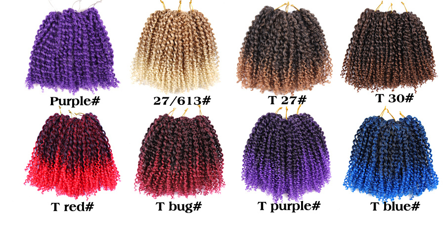 Feilimei Ombre Colored Crochet Hair Extensions Kanekalon Hair Synthetic Crochet Braids Ombre Jumbo Braiding Hair Bundles Good Reputation Over The World Hair Extensions & Wigs Jumbo Braids