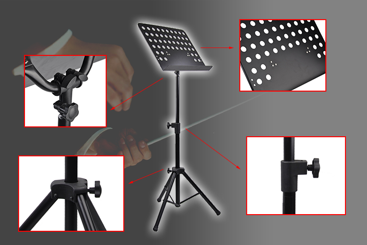 cheap tripod clear acrylic plexiglass music stand mss004 c buy flexible music stand clear. Black Bedroom Furniture Sets. Home Design Ideas
