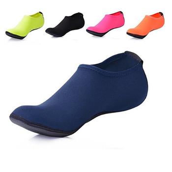 d30dbc6a4d5d Barefoot Skin Water Shoes For Women s Men s Kids Aqua Socks Surf ...