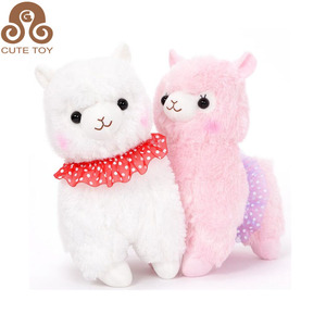 2018 custom Soft Cute Alpaca Stuffed Animal Plush Toys