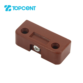 TOPCENT plastic furniture cabinet wooden wall bracket joint connector