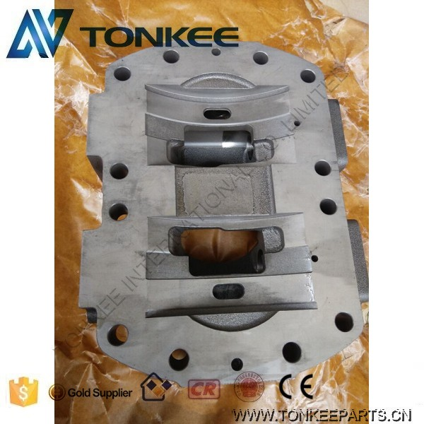 Hydraulic pump A8VO200 head block A8VO200 head cover for 330C