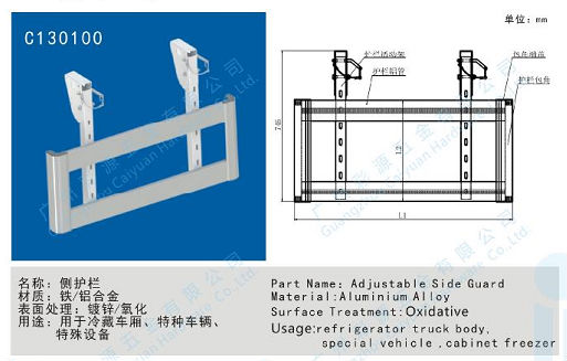 Bottom Rail,aluminium alloy side guard