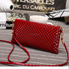 cell phone neck hanging bag fashion customized design leather mobile phone bag Wholesales 888