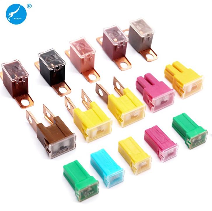 J Case Type Female Fuse 40 Amp Jcase Cartridge Low Profile Car Auto Cable Fuse