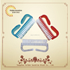 plastic medicl surgical nail hand washing brush wholesale for brush nail