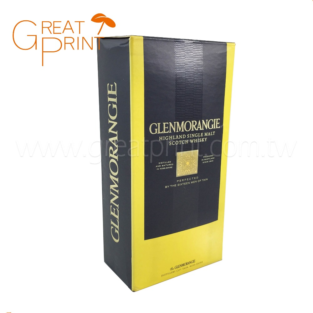New Premium Printing Gift Packaging Cardboard Box for Wine
