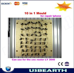 CNC Milling Polishing Engraving Machine for iPhone Main Board Repair, Mould 10 in 1