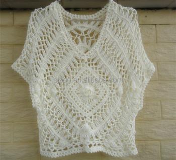 Handmade Crochet T Shirtscrochet Summer Topscrochet Top Patterns