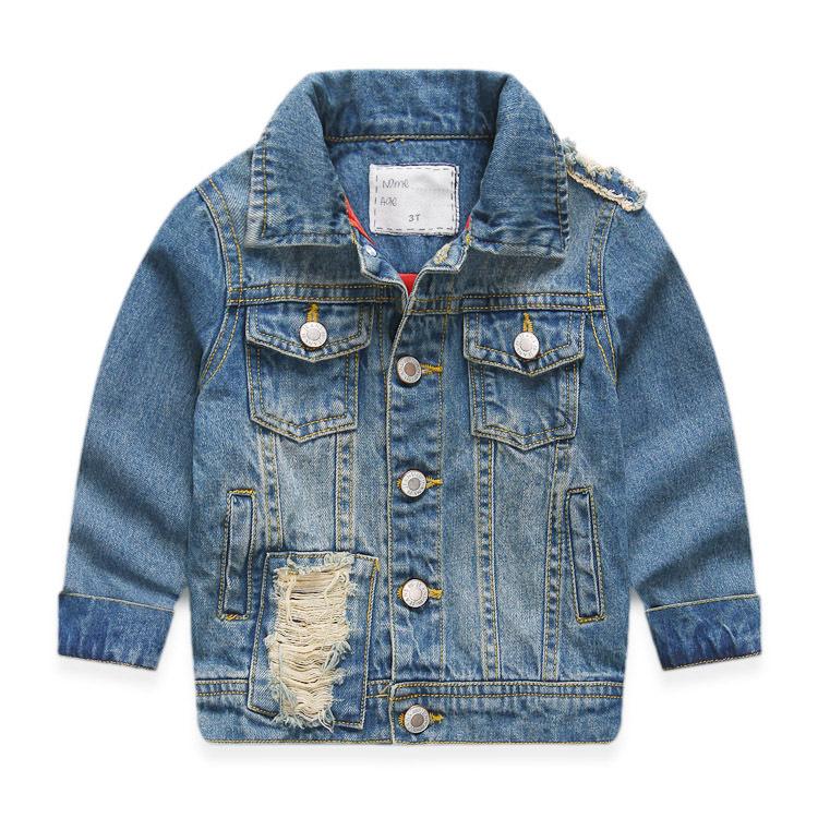 9842113ceb26 Get Quotations · Fashion Brand Design Spring & Autumn Kids Boy/Girl Outwear  Coat 3-8TChildren Unisex