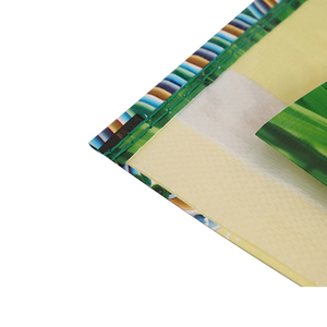 Custom Size And Printing PP Woven Fabric To Make Rice Bag