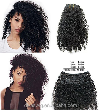 100 remy clip human hair extensions uk 3b 3c curly clip in
