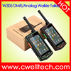 Alps W305 4 Inch Touch Screen Analog/DMR Dual Mode Walkie Talkie NFC 5000mah big battery mobile phone