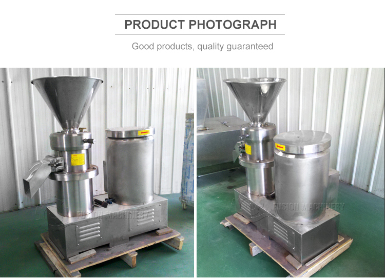 New beans butter machine/cacao beans colloid grinder/nuts and peanut butter machine