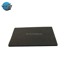 Wholesale price sandwich plastic hollow black hard round thick cutting conflute flute pp plastic corrugated liner board