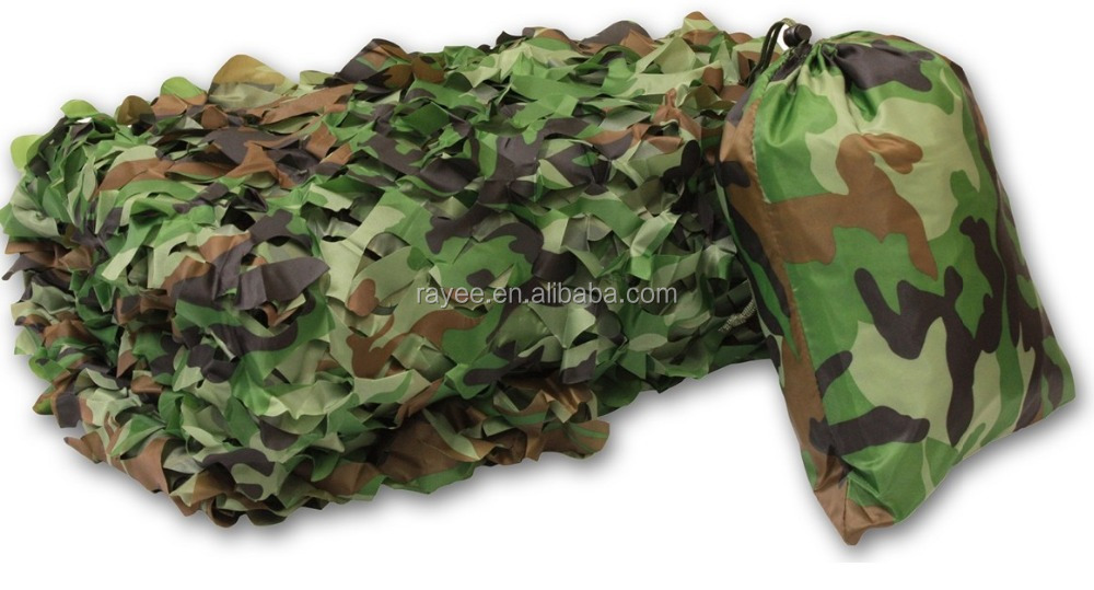 Large Piece Green Camo Netting 20m X 20m With Mesh And Ropes,Green Shade  Net For Event,3d Military Camouflage Net - Buy Army Camouflage Netting,3d