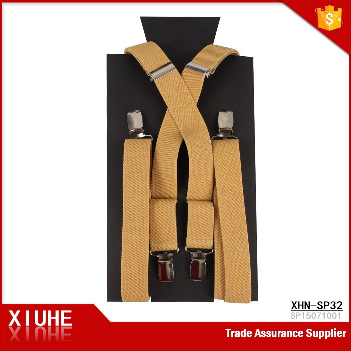 Fashion Braces Suspenders With Packaging