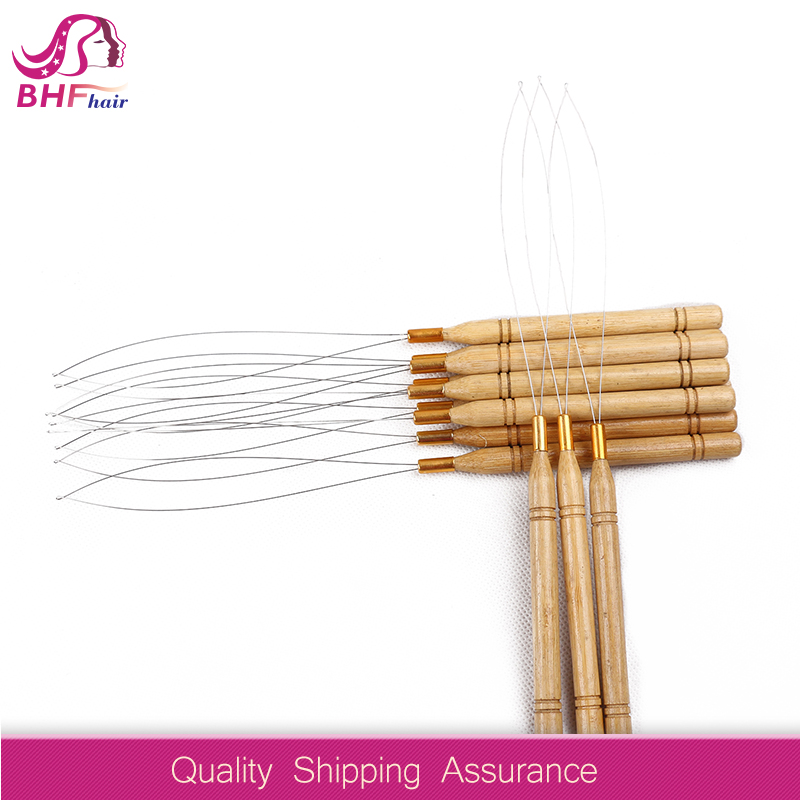 Hair Extension Accessory Weaving Needles and Weaving Thread Ventilating Wig Needle