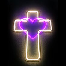 Produttore personalizzata cuore neon sign con <span class=keywords><strong>lettere</strong></span>