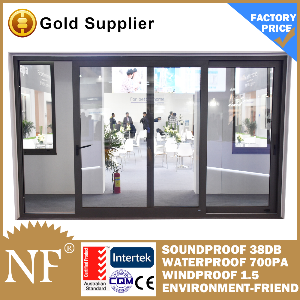 second hand aluminium sliding doors