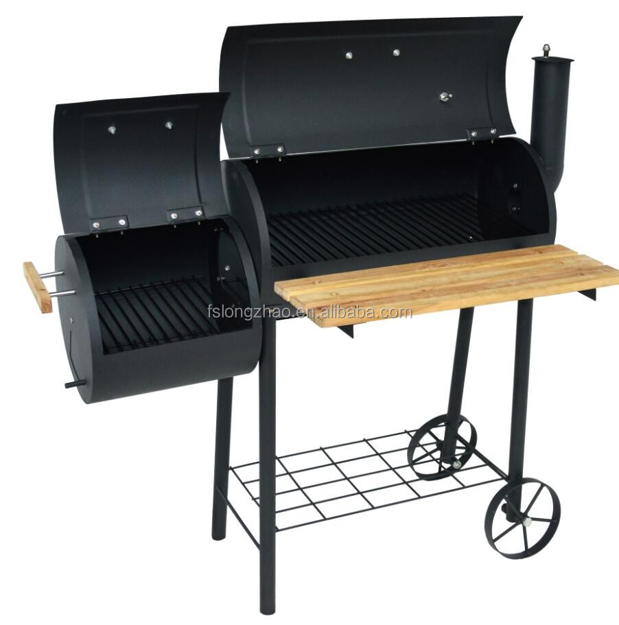 cast iron barrel bbq barbecue charcoal grills cast iron barrel