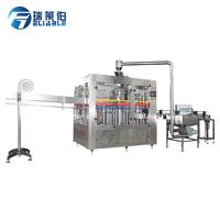 CE certificate small scale soft drink/soda water/carbonated beverage filling machine