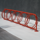Steel park bicycle parking stand