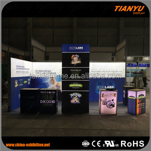 smart aluminum alloy exhibition booth