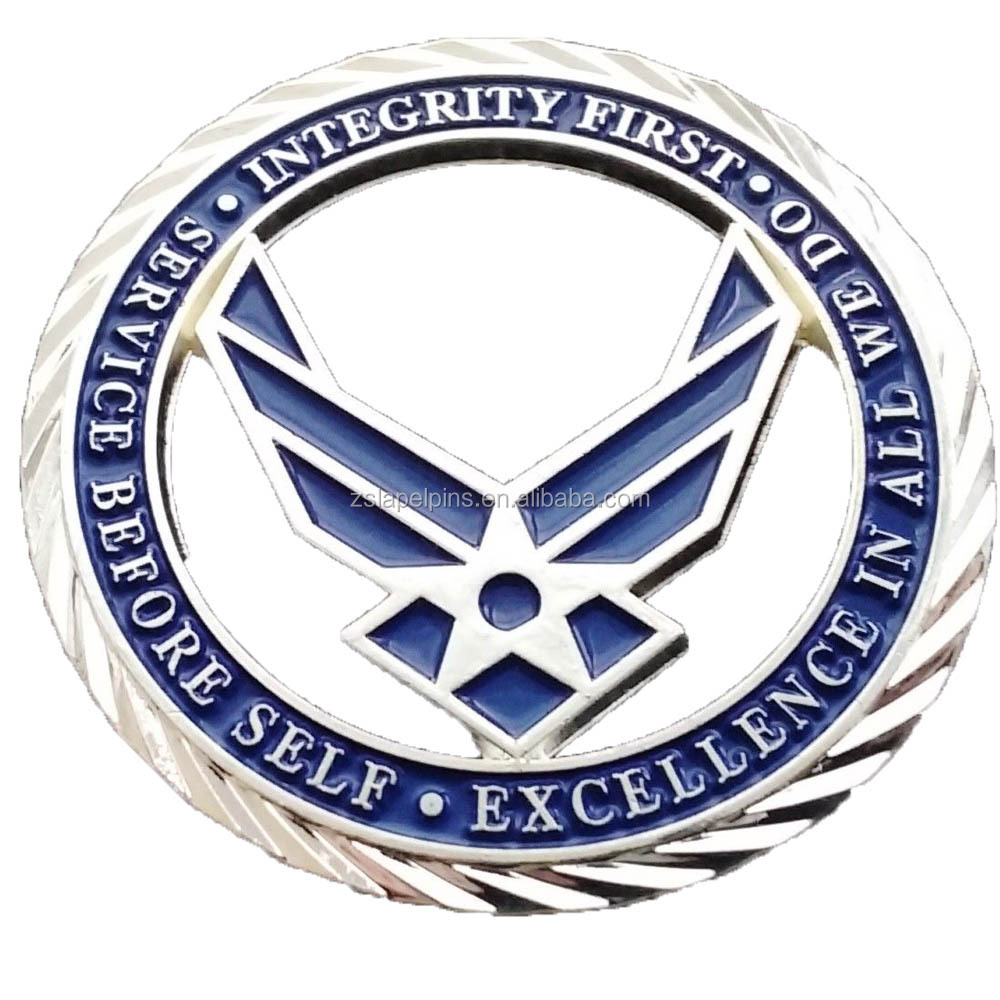 Air Force Core Values Challenge Coin U.S