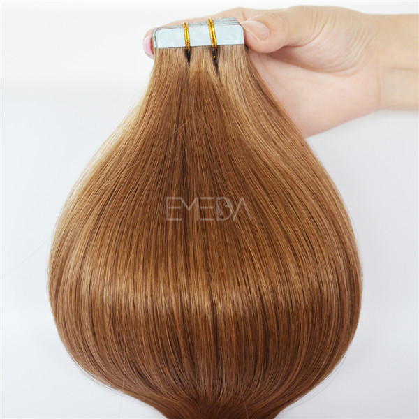 Grade 12a Adhesive Tape For Remy Indian Blonde 20inch Human Hair