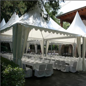 Small aluminum structure tent for reception halls