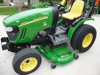 2008 john deere 2320 4wd tractor 54 deck 91 hrs buy john. Black Bedroom Furniture Sets. Home Design Ideas