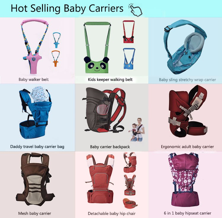Quanzhou new baby carry sling, brand design baby carrier backpack