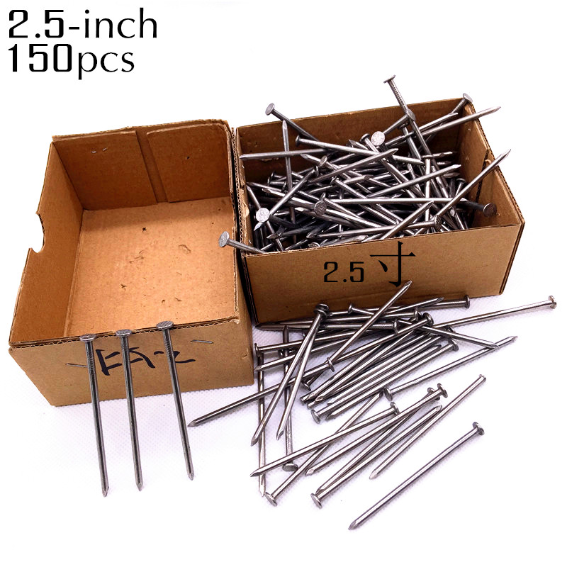 More Than 150pcs 6.7cm Nails For Woodworking Metalworking Installation Of Water And Home Decoration Industry Nail Nw500g