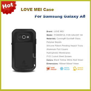 factory authentic 32506 31129 Cheap price waterproof case for samsung galaxy a8,for galaxy a8 case,case  for samsung galaxy a8