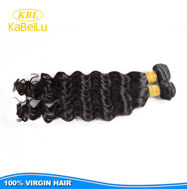 KBL peruvian deep wave she's happy hair,9A unprocessed peruvian hair price per kg hair supplies,top peruvian hair bundles sample