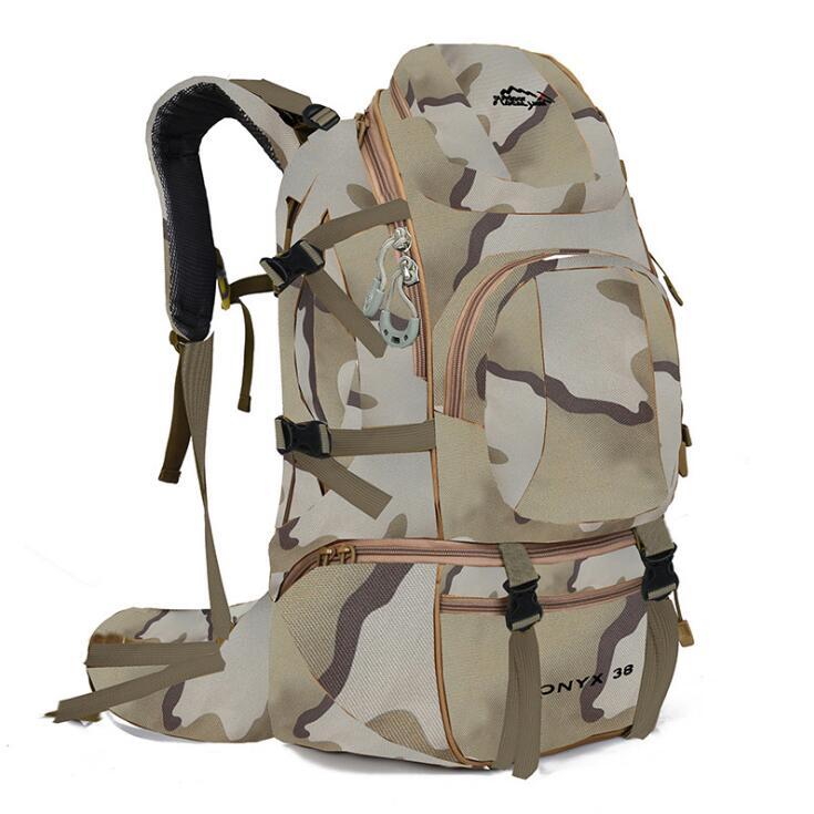 Custom bagpack high-capacity mountaineering hiking back pack travel big bag backpack
