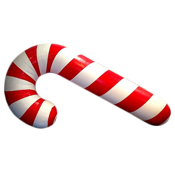 Giant Candy Cane Model Inflatable Candy Canes Helium Balloon For