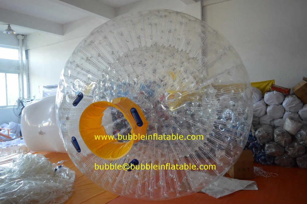 human zorb ball 1.0mm PVC inflatable snow zorb ball for sale